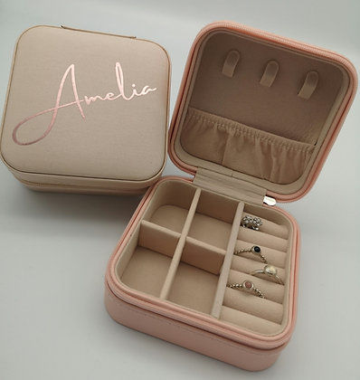 Personalised Jewellery Case