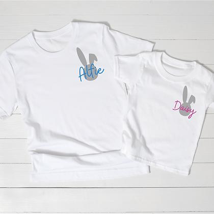 Ollie&Millie's Own - Personalised Bunny Tee