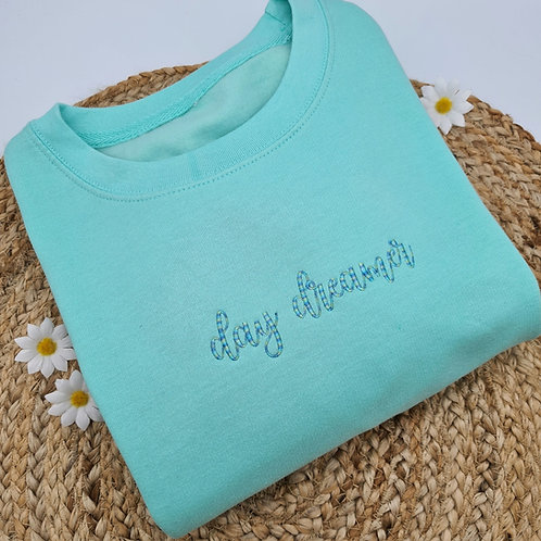 Ollie&Millie's Own - Embroidered day dreamer Sweater