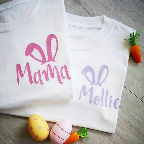 Ollie&Millie's Own - Personalised Family Easter Tee