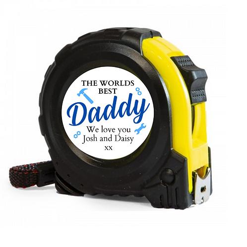 Personalised 5m tape measure