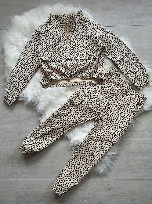 Leopard Print Tracksuit