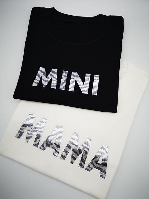 Ollie&Millie's Own - Shimmer Zebra Print