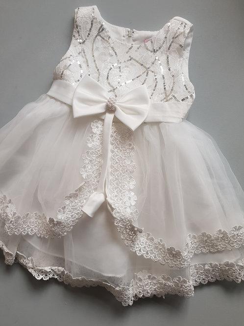 White Lace Party Dress