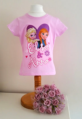 Official Disney Frozen Pink T-shirt