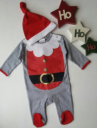 Baby Santa Sleepsuit 2 Piece