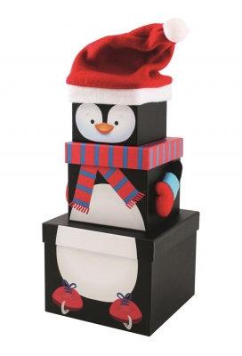 Plush stacking boxes