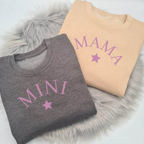 Ollie&Millie's Own - Mama & Mini Sweater (sold separately)