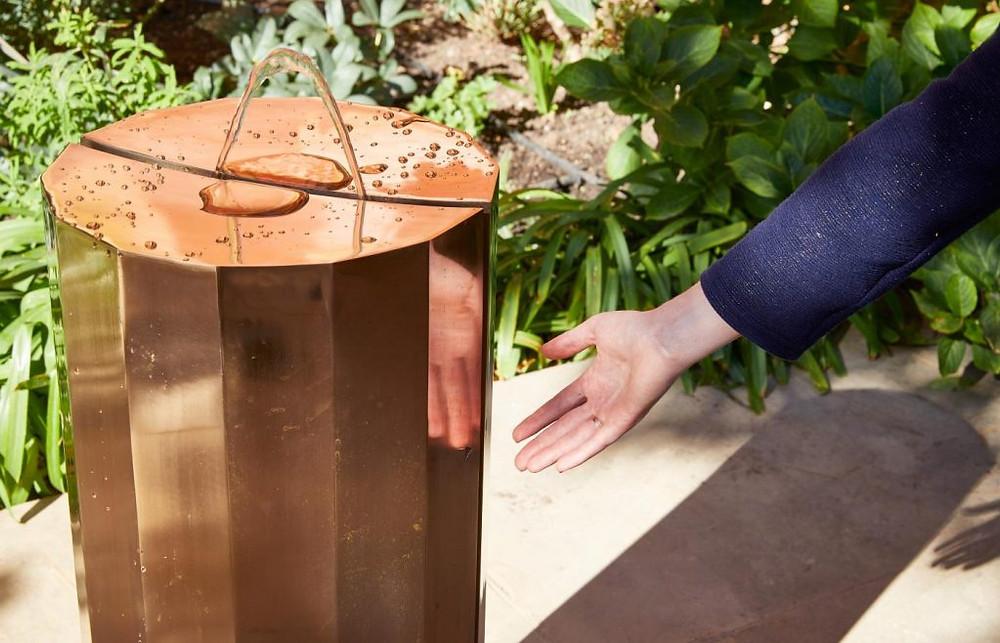 Michael Anastassiades Fountain - V&A design festival