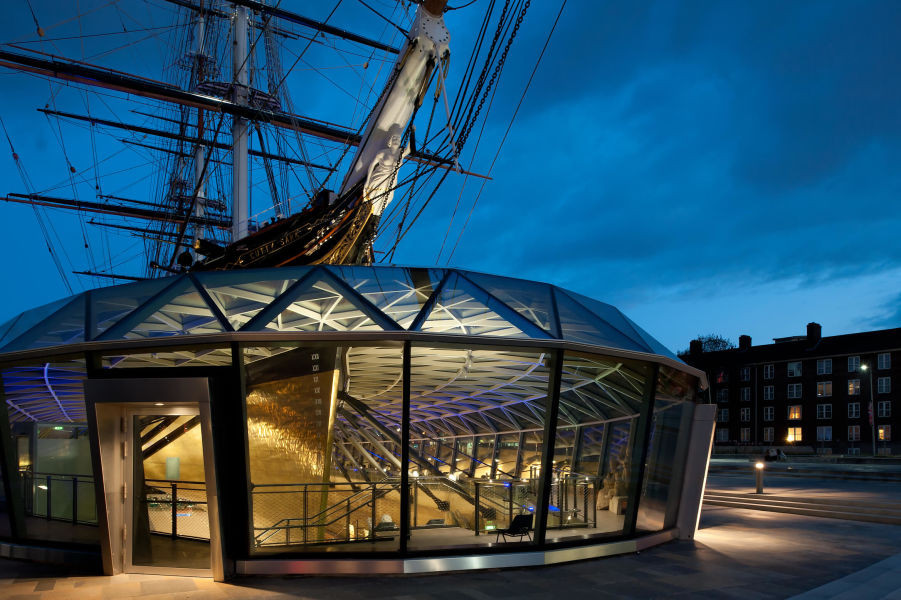 Cutty Sark Conservation Project - National Maritime Museum, Greenwich
