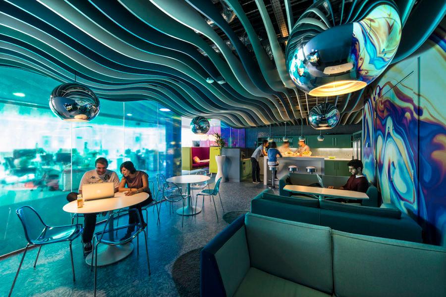 Google Campus Dublin office design