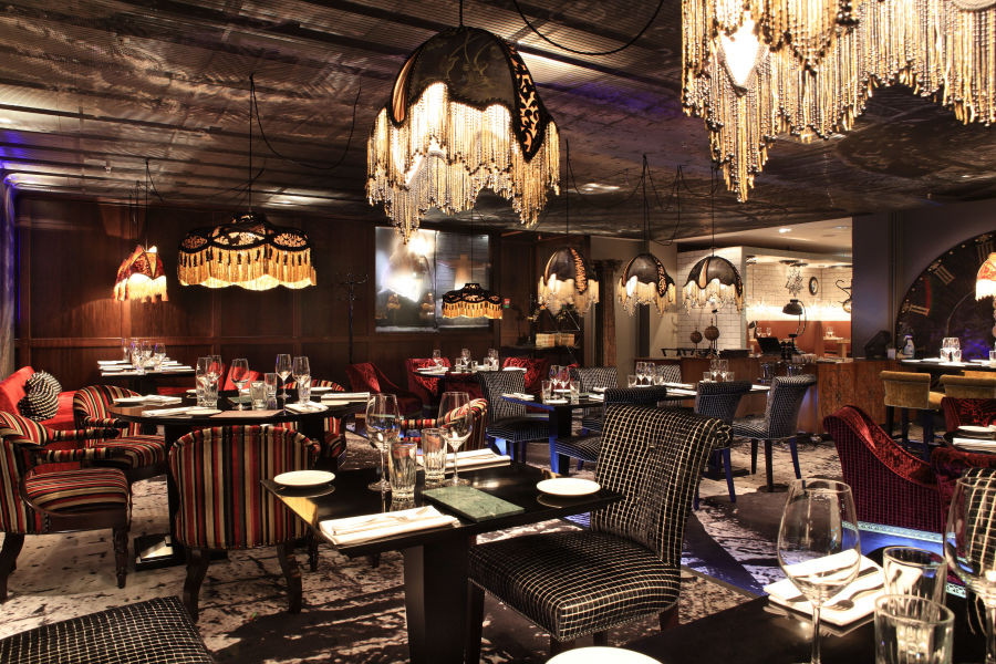 Griffins' Steakhouse Stockholm dining room