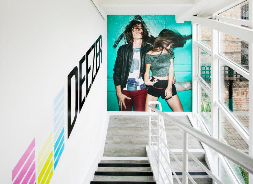 Fabric Interior Design stairwell