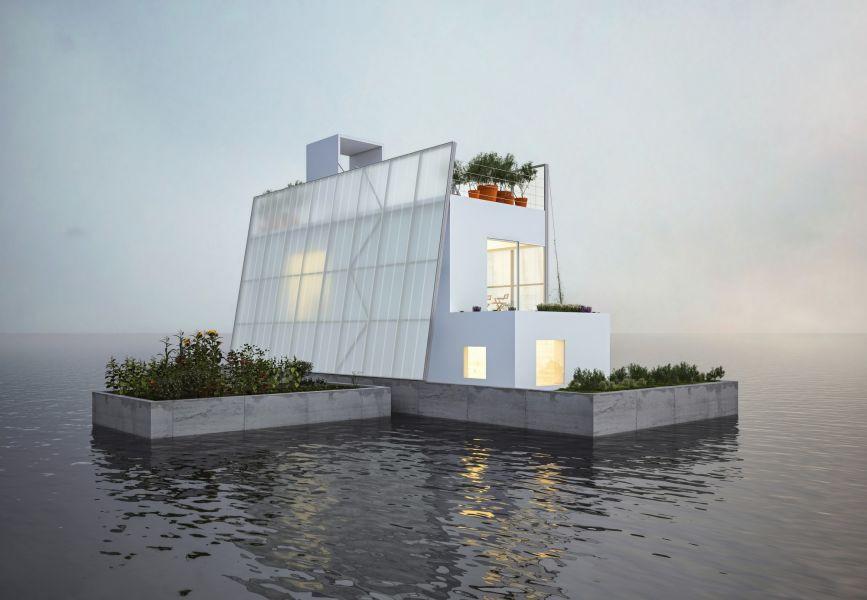 Floating House- Carl Turner Architects