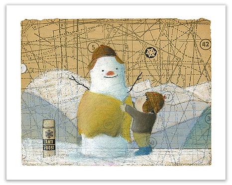 Snowmen & Children -2