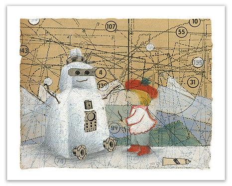 Snowmen& Children -1
