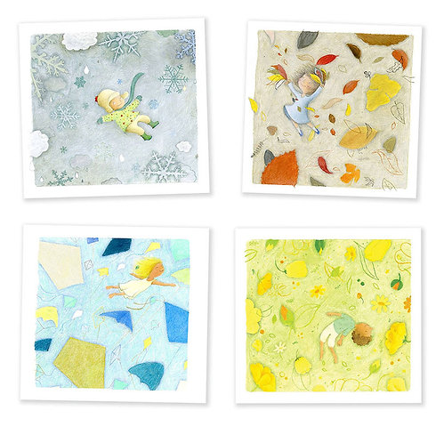 Four Seasons - Set of four prints