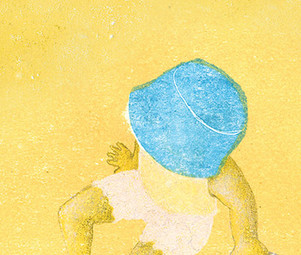 A Girl with a Turquoise Hat