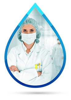 water disinfection hospitals