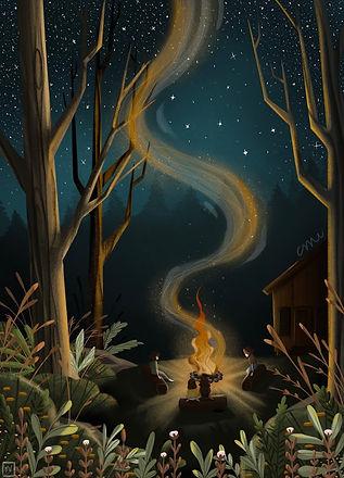 mel bittersummer campfire.jpg