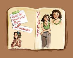 Violet sketchpage_Soph