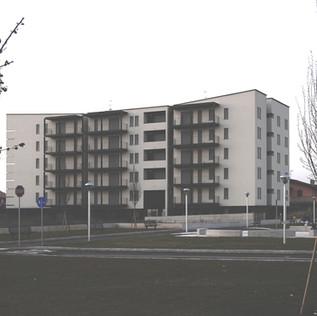 Edificio di residenza pubblica, Via Segantini, Dalmine, BG