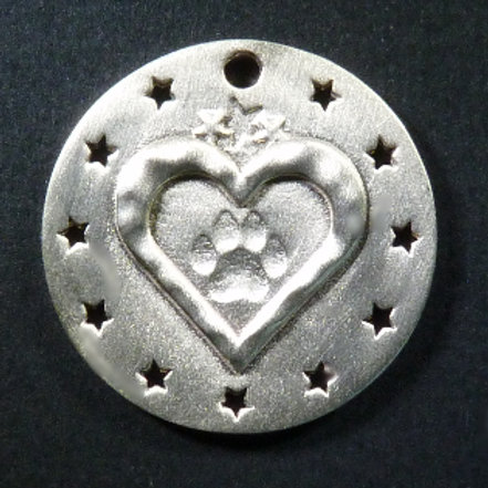 Rescue/Adopted Dog Charm - Satin finish