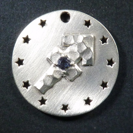 Sagittarius Charm - Satin finish