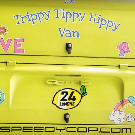 TRIPPY TIPPY HIPPY RACING VAN...