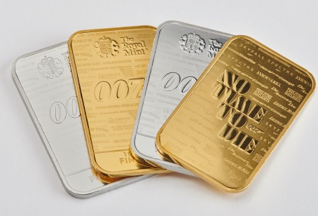 THE NAME'S BULLION, GOLD BULLION...