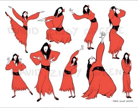 DANCING PRINTS...