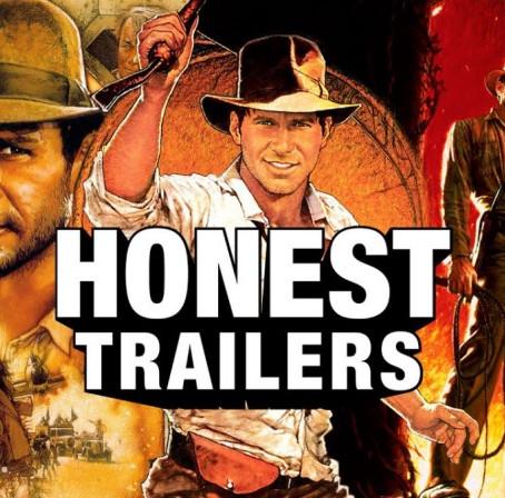 HONEST TRAILERS - THE INDIANA JONES TRILOGY…