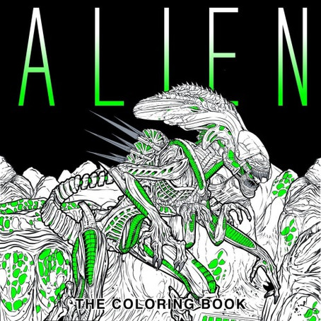 ALIEN: THE COLOURING BOOK...