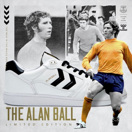 ALAN BALL TRAINER BY HUMMEL...