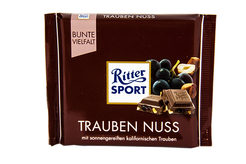 Ritter Sport Raisins & Hazelnut