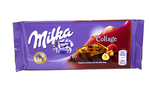 Milka Collage Raspberry Bar
