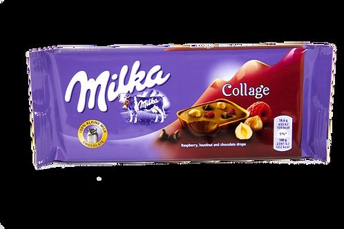 Milka Collage Raspberry Bar