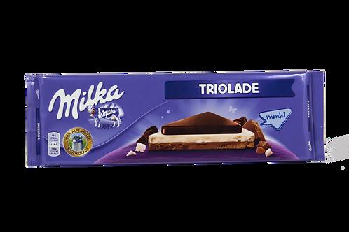 Milka Triolade Bar 300gm