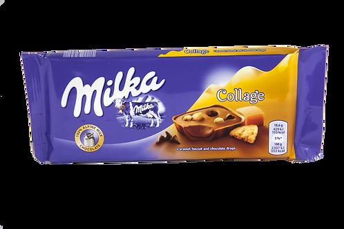 Milka Collage Caramel Bar