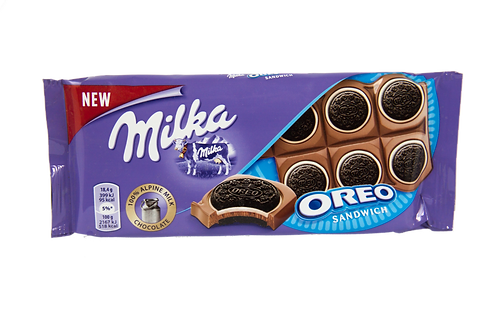 Milka Oreo Sandwich Bar