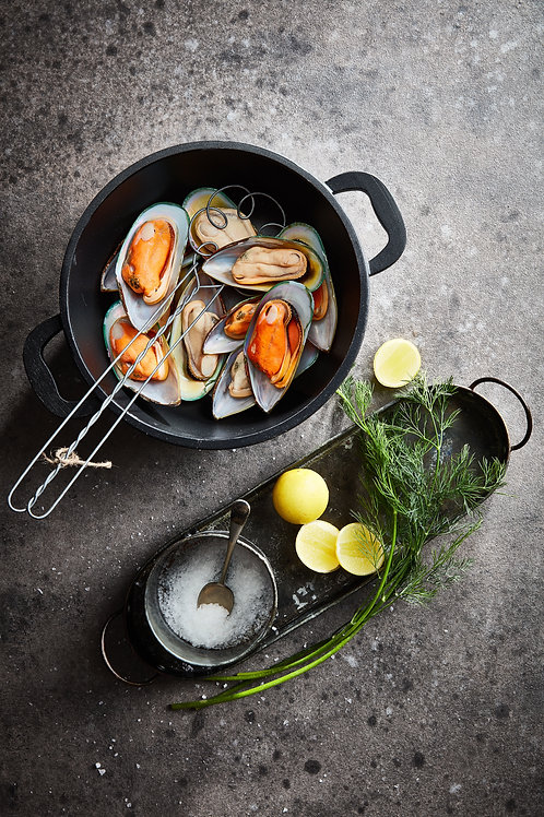 French Mussels - Half Shell