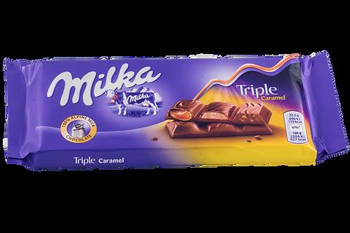 Milka Triple Caramel Bar