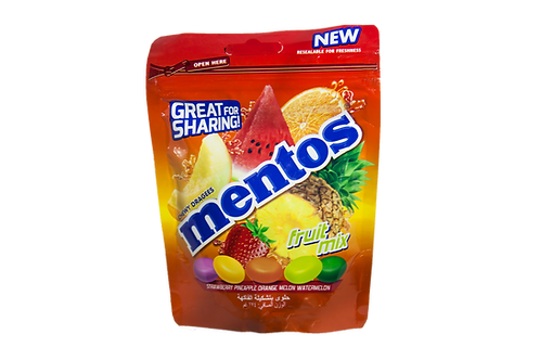 Mentos Fruit Mix 174gm