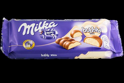 Milka Bubbly White Bar