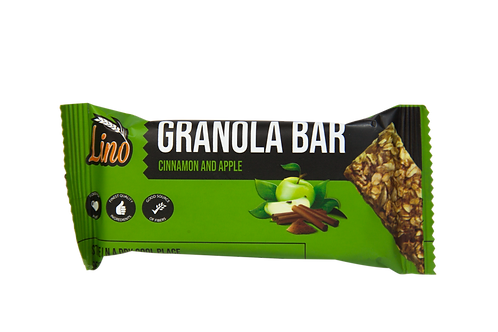 Lino Granola Bar (Cinnamon & Apple)