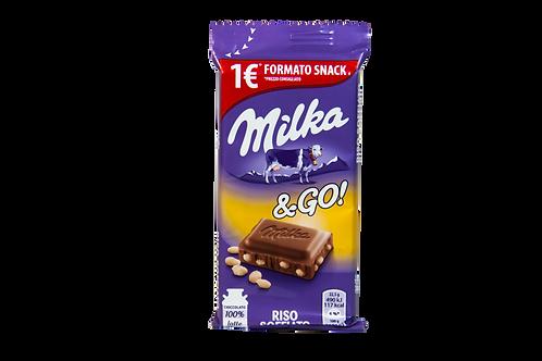 Milka & GO Rice Crips 45g