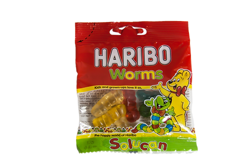 Haribo Worms 17gm