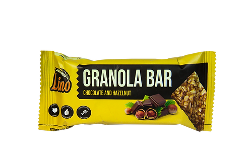 Lino Granola Bar (Chocolate & Hazelnut)
