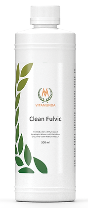 Clean Fulvic – gezuiverd water met fulvinezuur