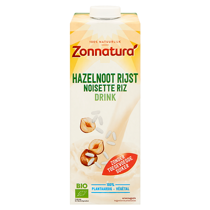 Hazelnoot & Rijst drink